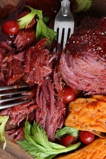 Bloody Mary Braised Corned Beef