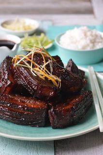Chinese braised pork belly