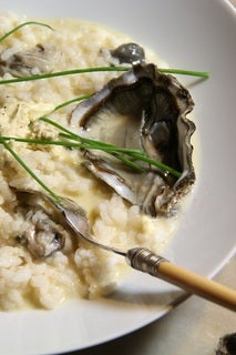 Oyster Mousse Risotto