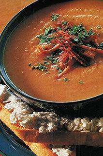 Italian Parsnip Soup With Crostini And Feta