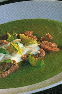 Fresh Pea And Ham Soup