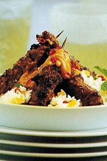 Spicy Beef Satays