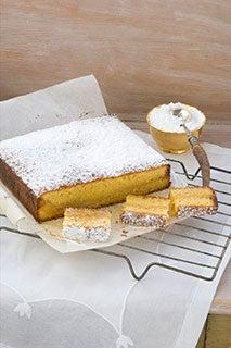 Buttery Marzipan Cake